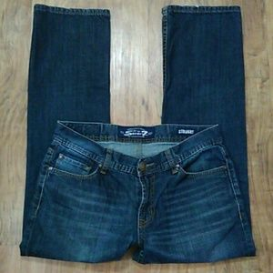 Seven7 Straight Jeans Size: 32x30